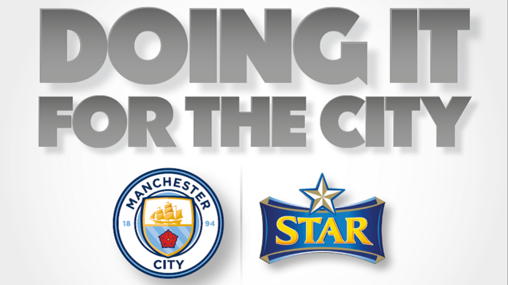 Manchester City and Star sign partnership