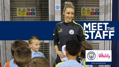 MEET THE STAFF: Behind the scenes at the City Football Academy with Official Health and Wellness Partner Vitality.