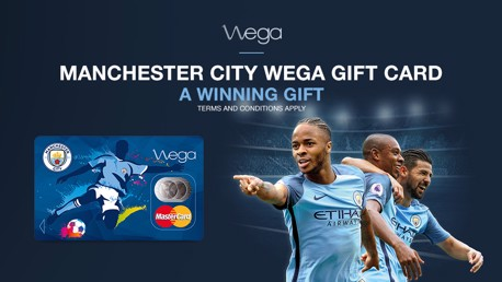 Manchester City and Wega reveal new Gift card