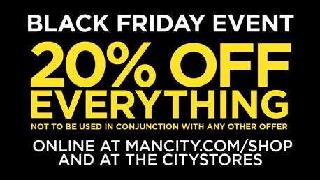 Black Friday at Manchester City