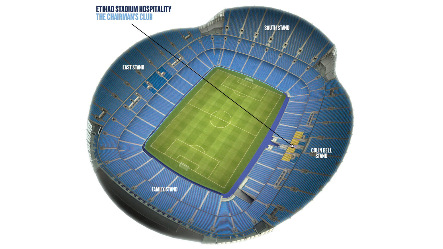 Chairman's Club stadium plan