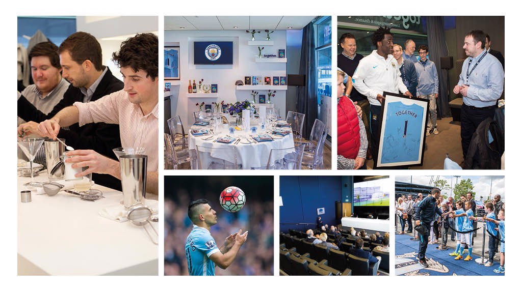 UNFORGETTABLE: Unique Experiences at the Etihad Stadium.