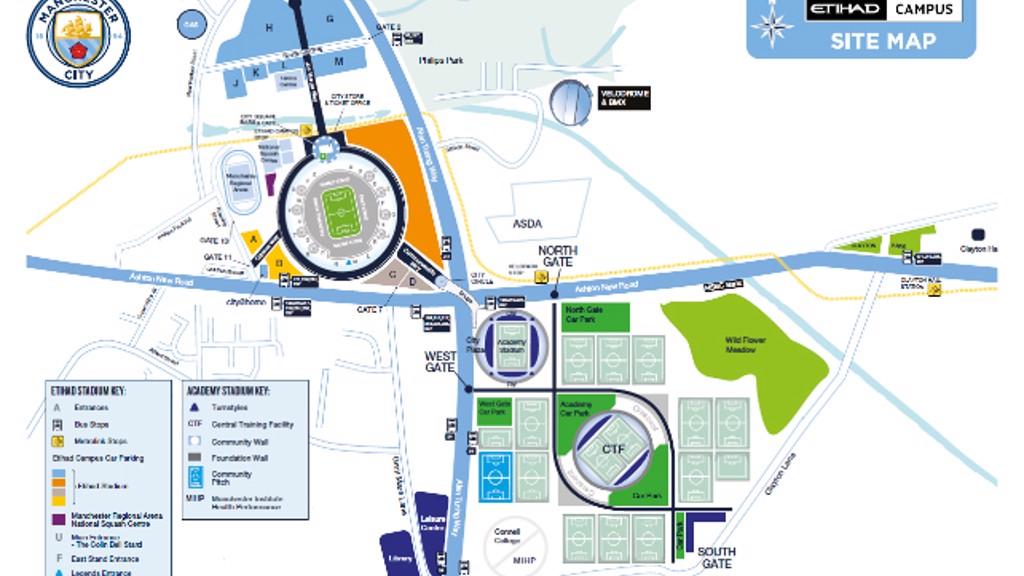 Orange Car Park Etihad Stadium