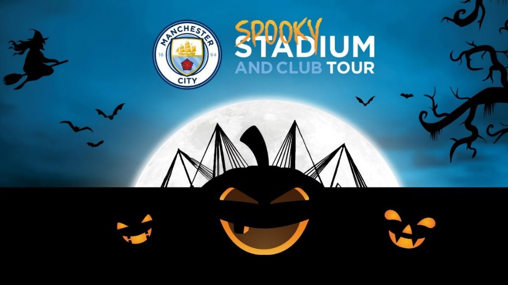 Halloween Maan.Man City Etihad Stadium And Club Tour Halloween Special