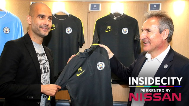 INSIDE CITY: Pep's first day.