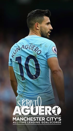 Aguero Wallpaper portrait