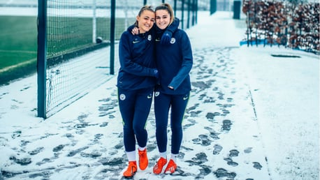 Training: Ain't snow stopping us now!