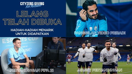 Lelang Cityzens Giving for Recovery Telah Dibuka!