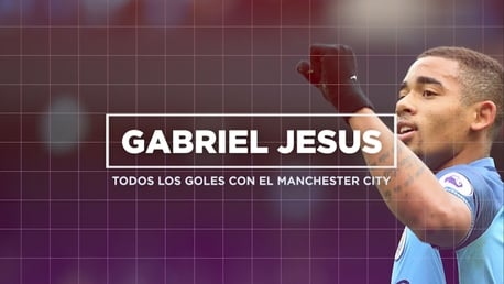 Todos los goles de Gabriel Jesus con el City