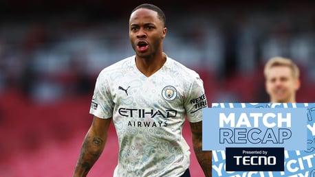 Arsenal 0-1 City: Match recap