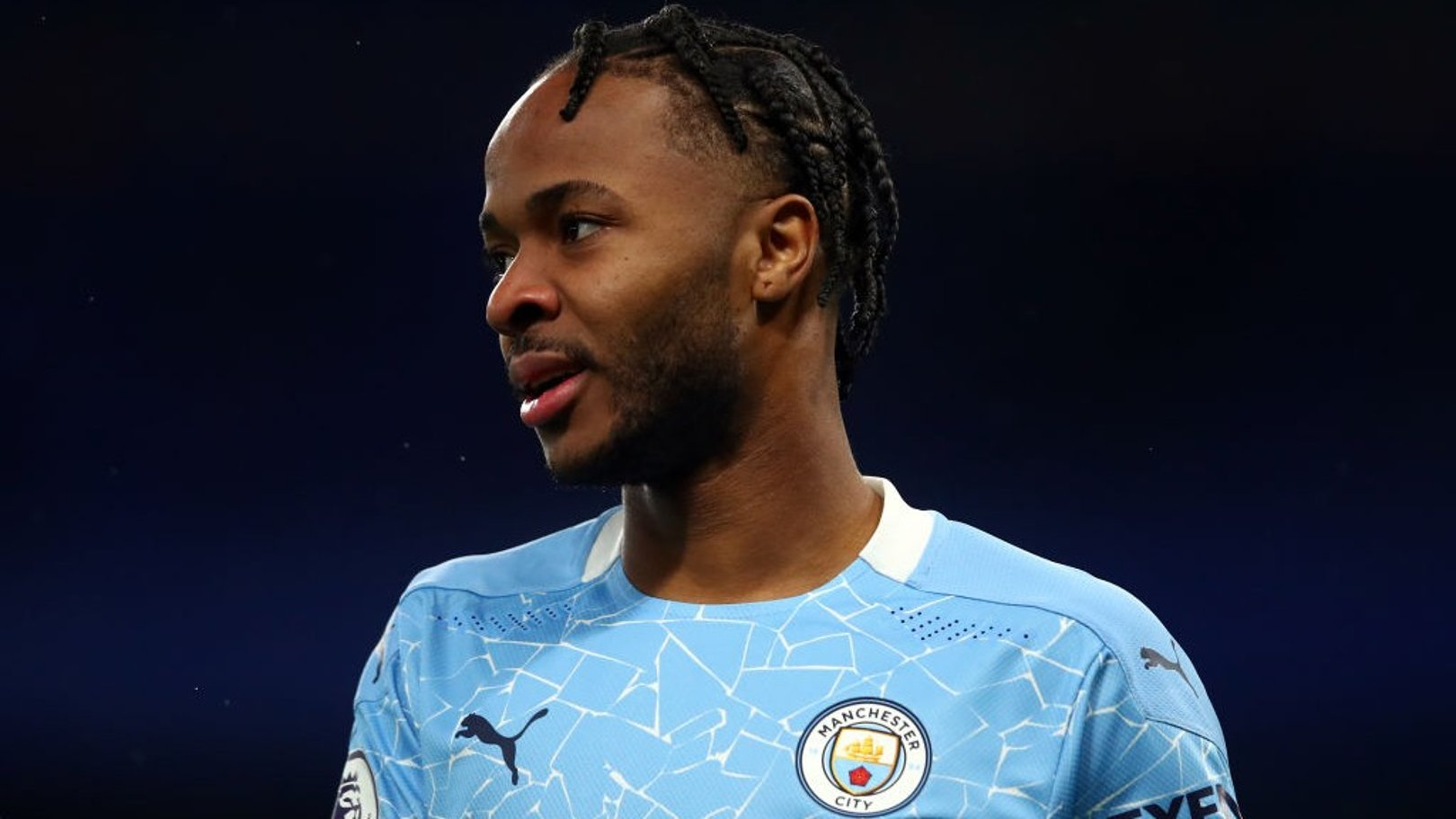 Raheem Sterling starts as City make four changes for Crystal Palace