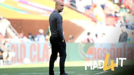 """Guardiola saúda o desempenho """"incrível"""" de Sterling na final da copa"""
