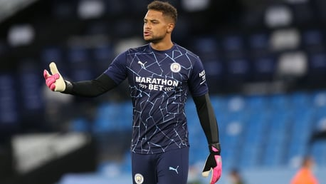 SAFE HANDS: Steffen has deputised for Ederson expertly.