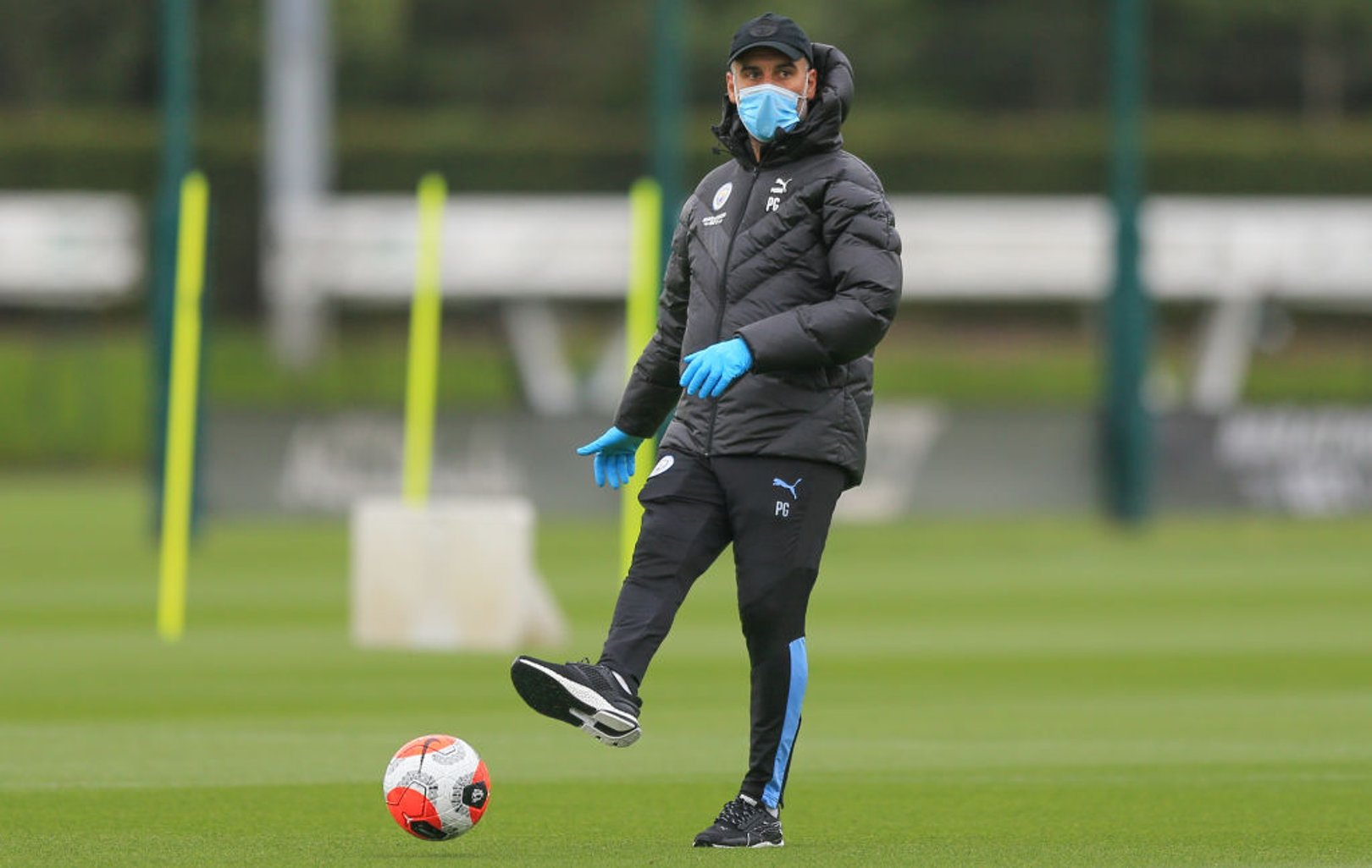 Guardiola happy with fitness of City squad