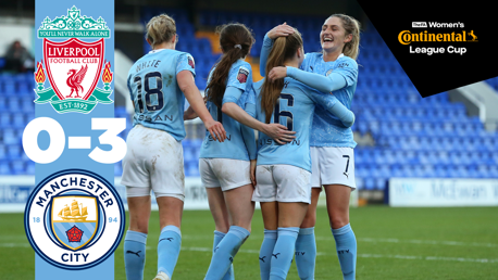 Conti Cup highlights: Liverpool 0-3 City