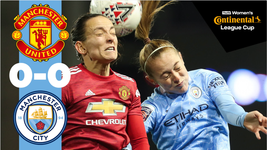 Conti Cup highlights: United 0-0 City