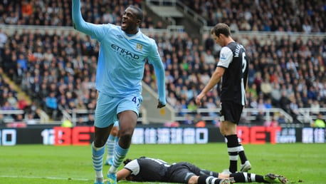 Classic highlights: Newcastle 0-2 City, 2012