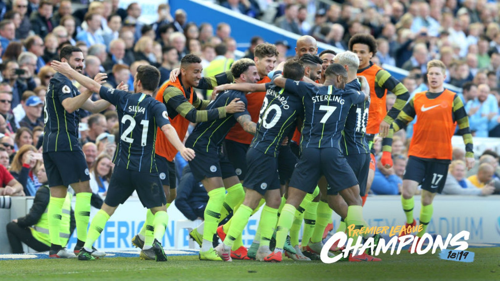 CHAMPIONS: City have retained the title with a win at Brighton