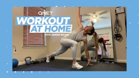 Janine Beckie's home workout: The world's greatest stretch