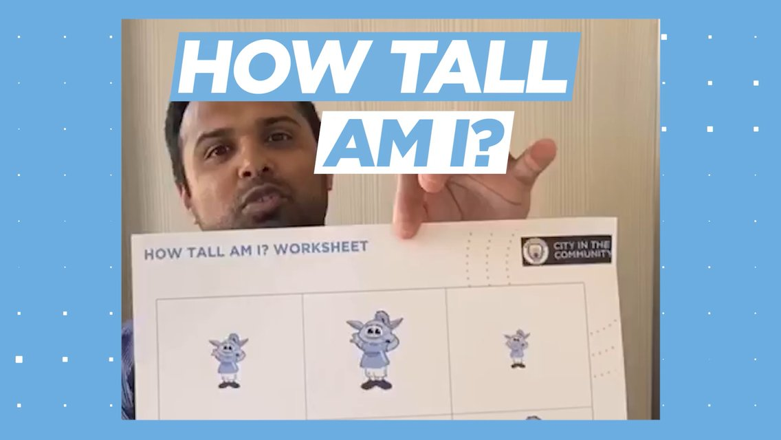Early years games: How tall am I?