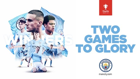 Coming soon on CITY+: Two games to glory