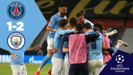PSG 1-2 City: Full-match replay