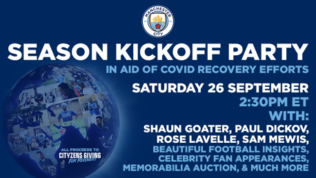 Join us for our Stateside 'season kick-off party'!