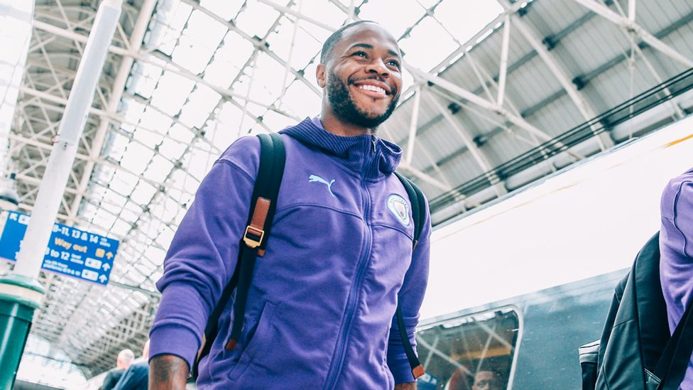 CAPITAL GAINS : Raheem Sterling has already enjoyed some memorable moments at Wembley with City this year