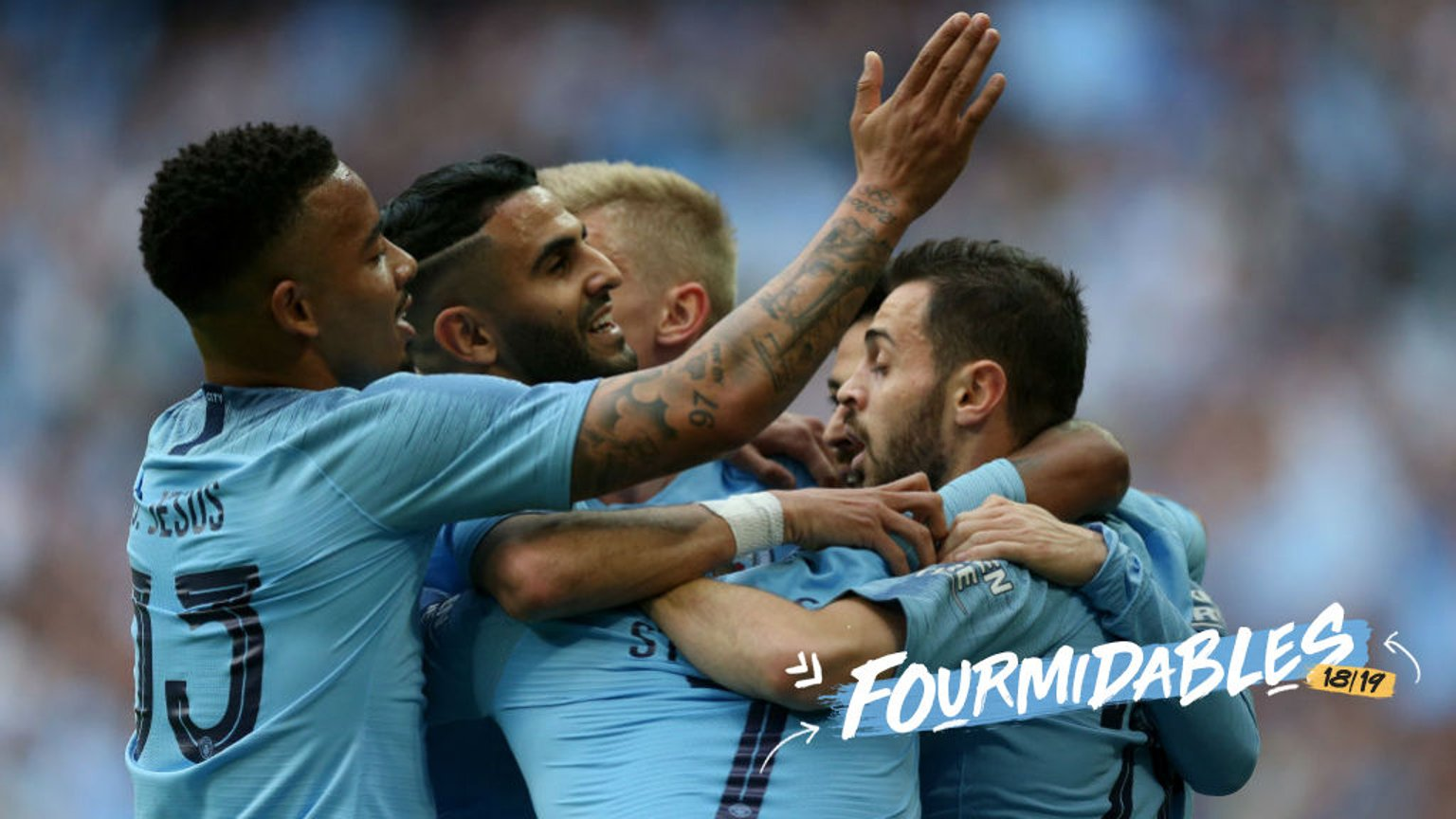 FOURMIDABLES: City have win the 2019 FA Cup and completed an historic season