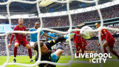 What TV channel is Liverpool v City on?