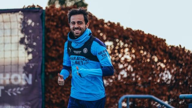 Always smiling : Bernardo Silva