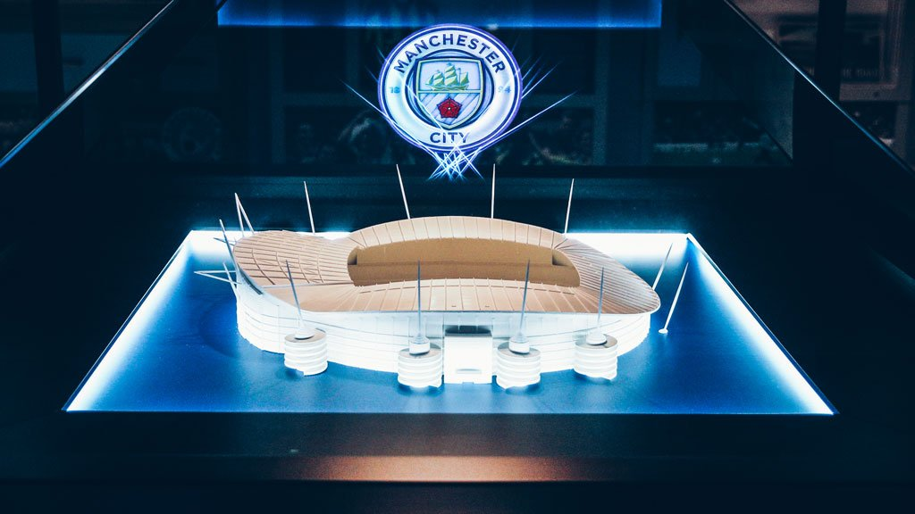 TOUR DE FORCE: City's crest is illuminated in a 3D holographic exhibition