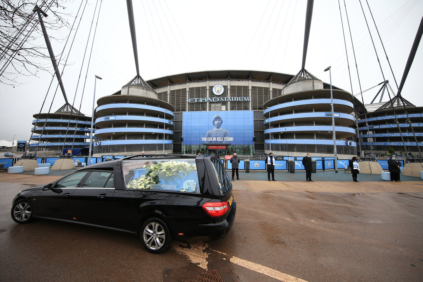 Remembering Colin Bell: Respects paid to City legend