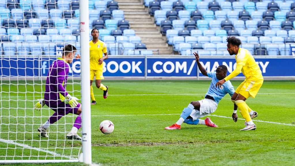GET IN: Carlos Borges scores for City