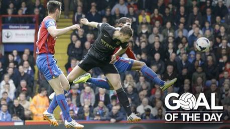 Goal of the Day: Dzeko v Palace 2014