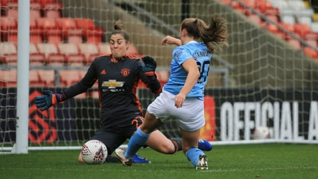 Resumen FAWSL: United 2-2 City