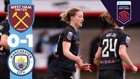 FA 여자슈퍼리그 종합 H/L | 웨스트햄 0-1 CITY