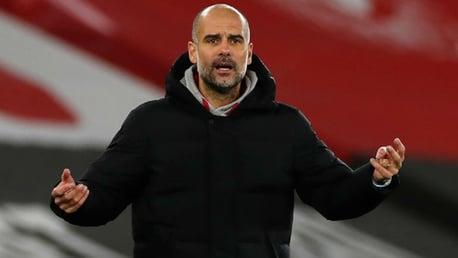 Pep Guardiola heureux, mais conscient du manque de dynamisme