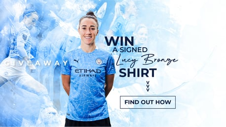 Win a signed Lucy Bronze shirt with SCM!