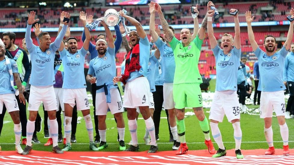 Mei 2019 : Penampilan sensational di final Piala FA saat City kalahkan Watford 6-0 untuk menjadi tim pertama yang memenangkan seluruh trofi domestik dalam satu musim.
