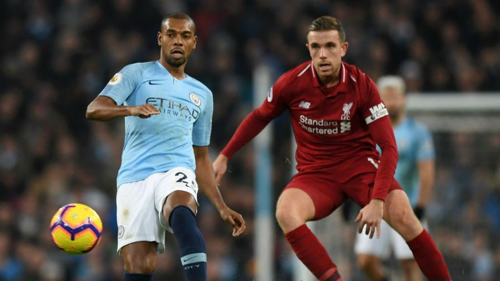 MIDDLE MARCH : Fernandinho produced another wonderful display