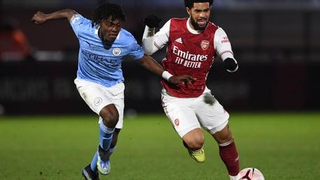 Arsenal 0-2 City EDS: Full-match replay