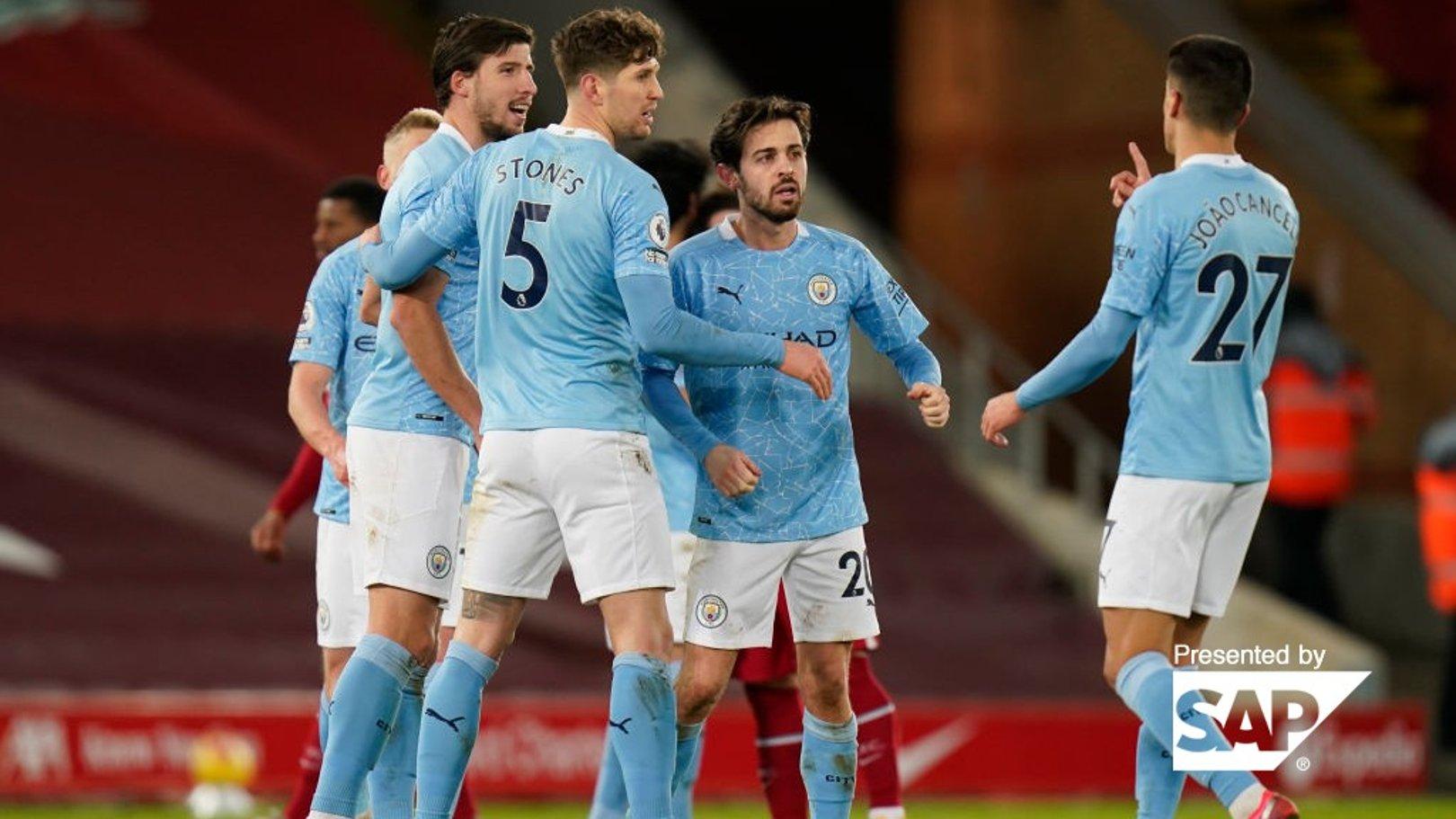 Estatísticas: Defesa do City na Premier League