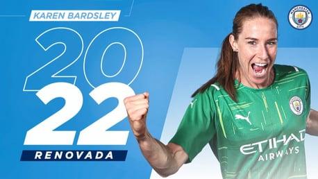 Karen Bardsley renueva con el City hasta 2022