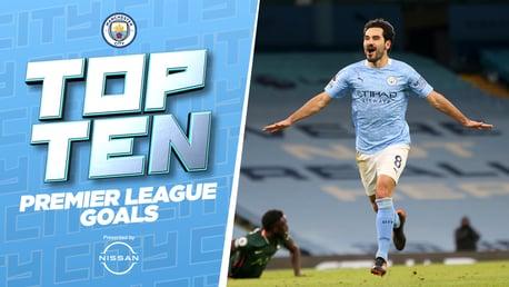 Les dix plus beaux buts de City en Premier League 2020/21