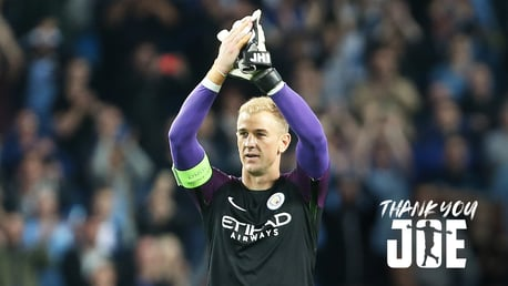 THANK YOU, JOE: In total, Joe Hart played 348 times for the Blues, leaving behind some wonderful memories