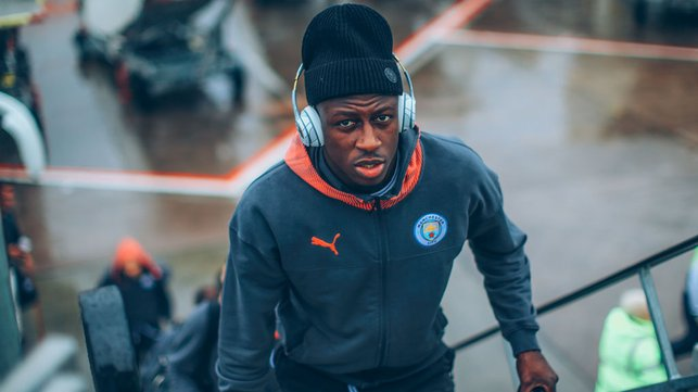 FOCUS TIME : Benjamin Mendy is a study in concentration ahead of departure