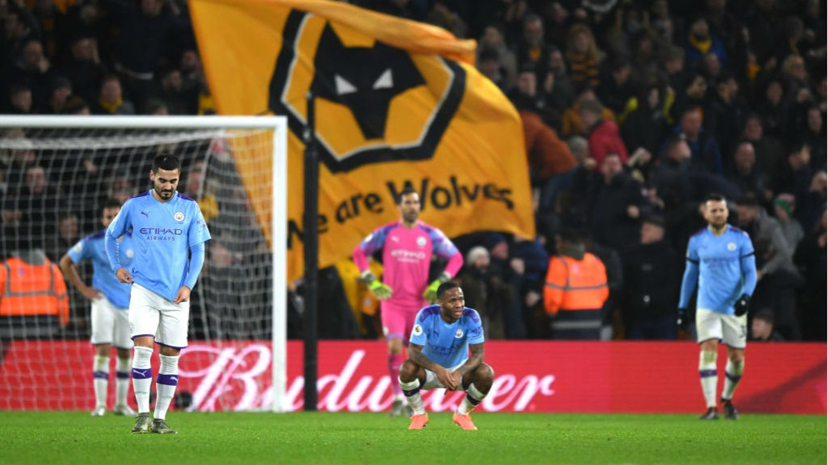 HAMMER BLOW: ...Before Matt Doherty's late effort earned Wolves all three points