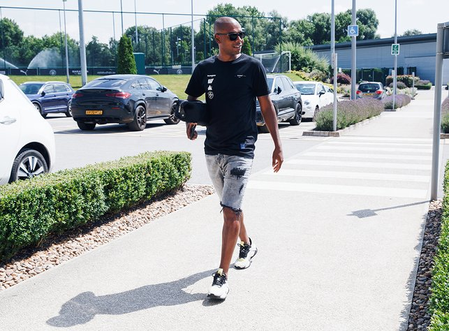 CAPTAIN'S CALL: Skipper Fernandinho is preparing for his eighth season at City having signed a new one-year contract extension earlier this month