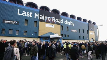 The last Maine Road derby